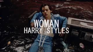 Harry Styles - Woman (Lyrics on Screen)