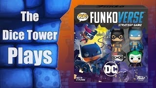 Funkoverse Strategy Game - A Dice Tower Play Through