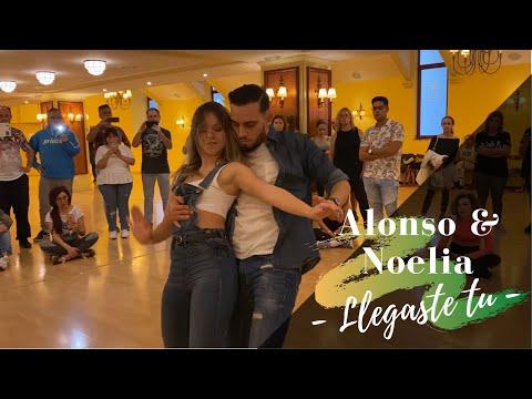 Alonso y Noelia - Llegaste tu