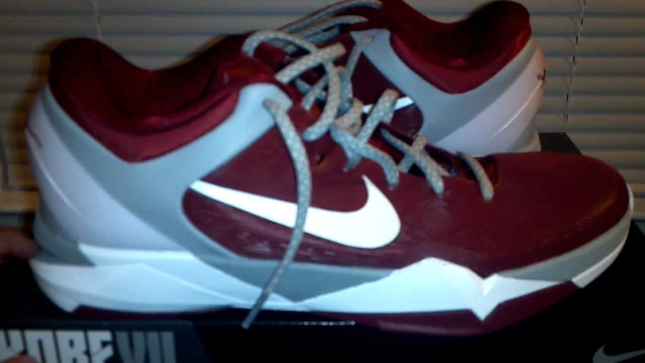 a58a6ceedf7c Kobe 7 Lower Merion ACES HD Review - YouTube