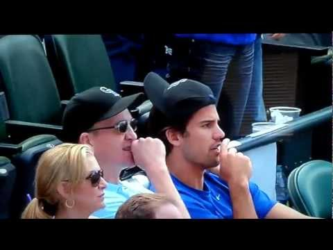 Todd Helton Grand Slam with Peyton Manning Watching