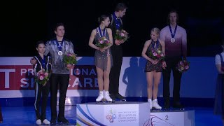 Российские спортивные пары взяли все медали на чемпионате Европы по фигурному катанию.