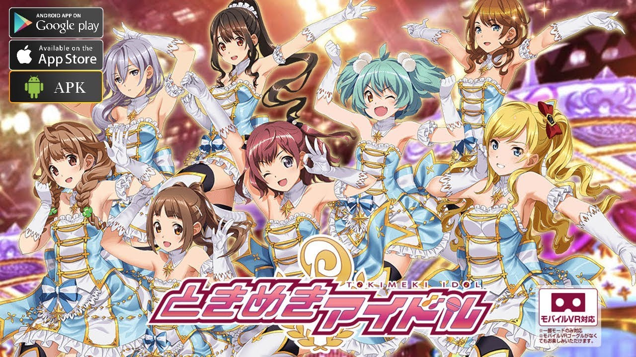 Tokimeki Idol Gameplay Android Ios Rhythm Game By Konami Youtube