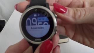 Garmin Fenix 5s 5 5x Connect IQ Widgets Watchfaces installieren