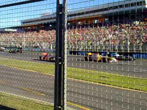 Australian Grand Prix Start 2009