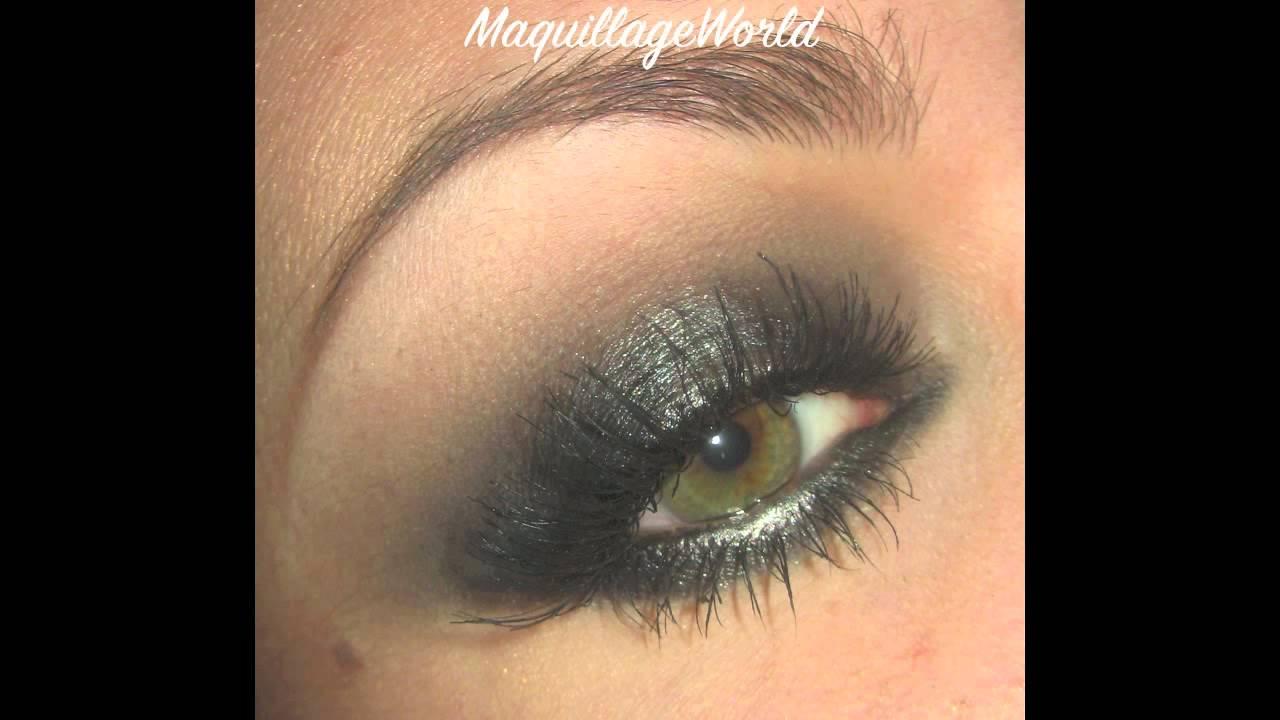 Hervorragend Maquillage tutoriel : Charbonneux lumineux argenté avec Naked 2  FE43