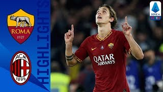 Roma 2-1 Milan | La Roma riprende quota grazie a Dzeko e Zaniolo! | Serie A