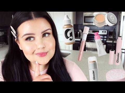 the best + worst of glossier makeup thumbnail