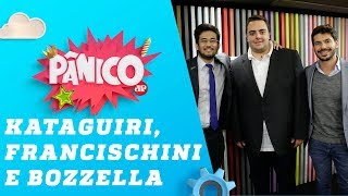 Felipe Francischini, Kim Kataguiri e Junior Bozzella - Pânico - 23/08/19