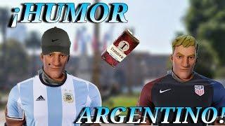 🇦🇷HUMOR ARGENTINO EN FORTNITE BATTLE ROYALE 🇦🇷 INVASION EPICA A UN YOUTUBER AMERICANO 🇺🇸 !!!!