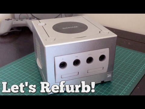 Let's Refurb! - How to Clean a Gamecube!