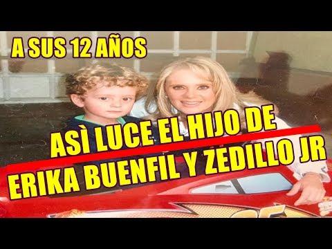 asì LUCE el hijo de ERIKA BUENFIL y ERNESTO ZEDILLO Jr. a sus 12 AÑOS
