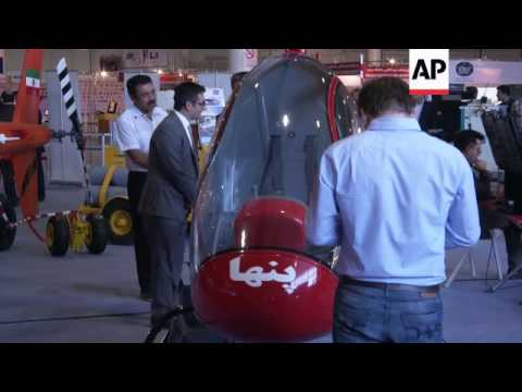 Increased confidence at Iran airshow due to easing of sanctions