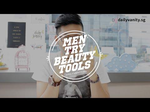 Men Try Beauty Tools | Daily Vanity