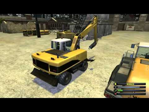 Demolition Company The freight yard Scenario