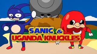 Uganda Knuckles and Sanic know the way