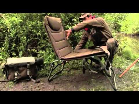 Fox Fx Stoel : Fox specialist fishing adjusta level chair overview youtube