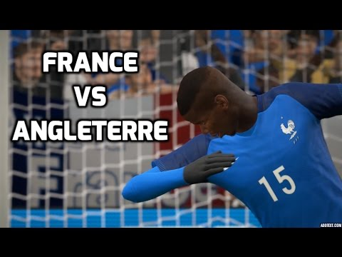France vs Angleterre FIFA 17 Difficulté Légende Gameplay PC