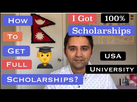 How To Get FULL SCHOLARSHIPS in USA(got 100% Scholarship in USA)? International student In USA