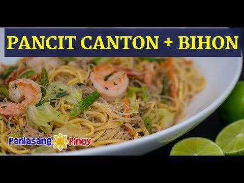 pancit-canton-at-bihon-recipe-panlasang-pinoy