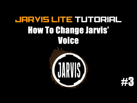 Jarvis Lite - How to change the default text to speech voice