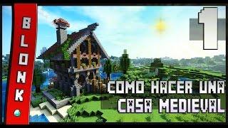 minecraft casa medieval