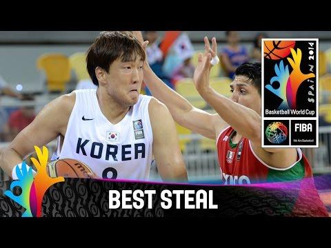Korea v Mexico - Best Steal - 2014 FIBA Basketball World Cup