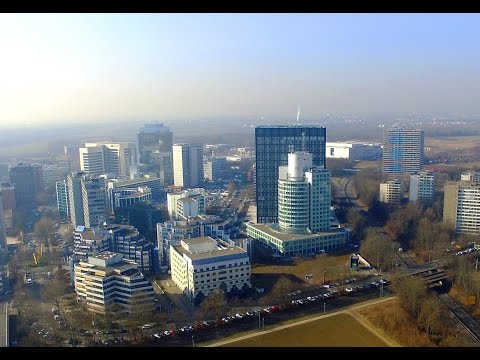 ESCHBORN Süd | Aerial Photography | DJI Phantom 3 | High Altitude and Sunshine