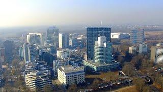 ESCHBORN Süd   Aerial Photography   DJI Phantom 3   High Altitude and Sunshine