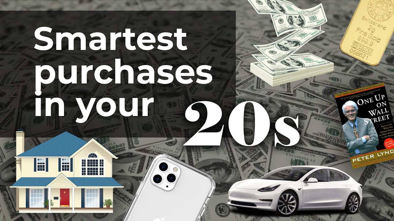 The 7 BEST Purchases to make in your 20s