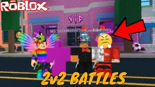 DIE ERSTE TEAM BATTLE AUF ROBLOX ASSASSIN?! *INTENSE* (ROBLOX ASSASSIN TEAM BATTLE *FIRST TO 10*)
