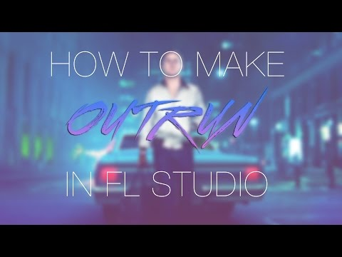 FL Studio Synthwave Tutorial: How to Make Outrun in FL Studio (Hotline Miami styled songs)!