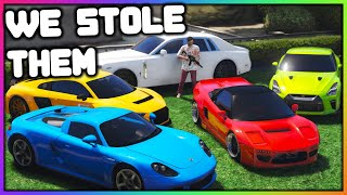 GTA 5 Roleplay - Stealing Luxury Cars | RedlineRP