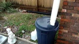 Urban Garden (Rain barrel kit for $25)