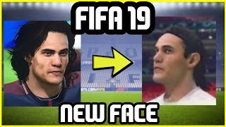 FIFA 19 NEW FACES - NEW Cavani Face Update