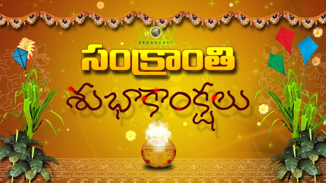 WOW Broadcast Wishes you a very Happy Pongal | Sankranthi ...