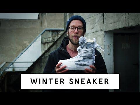 5 Tipps & Vorschläge für Sneaker im Winter