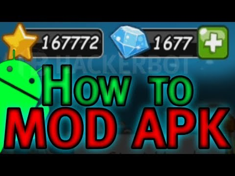 How to mod APKs and Create your own Modded APK Hacks for Games and