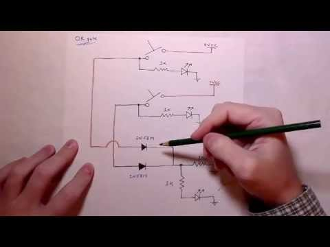 Circuit Assembly Tutorials || How to build an OR logic ...