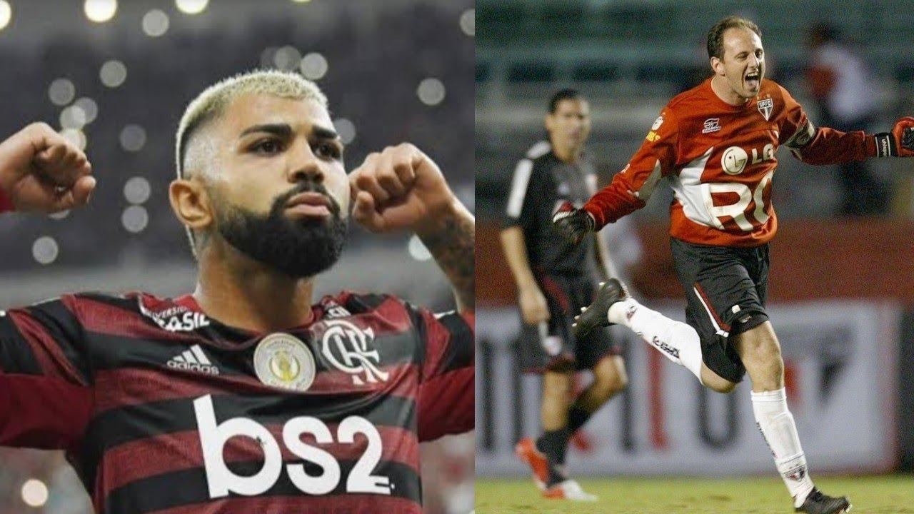 O melhor Flamengo e são Paulo de todos os tempos - YouTube