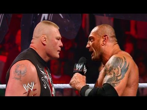 WWE RAW 4/22/13 Batista Returns And...