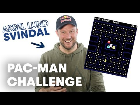 Aksel Lund Svindal Answers Your Questions While Playing Pac-Man