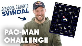 Aksel Lund Svindal Conquers Pac-Man