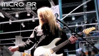 MICRO BR: BR-80 Demo by Rob Marcello Musikmesse 2011