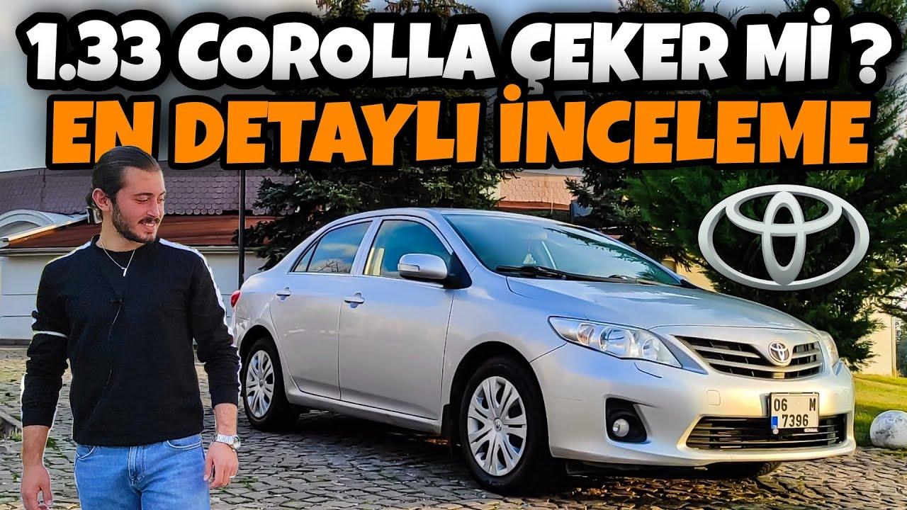 Yakıtı Koklayan Araba | Toyota Corolla E140 | 1.33 99 Hp | Bol Gazlamalı En Detaylı 1.33 Videosu