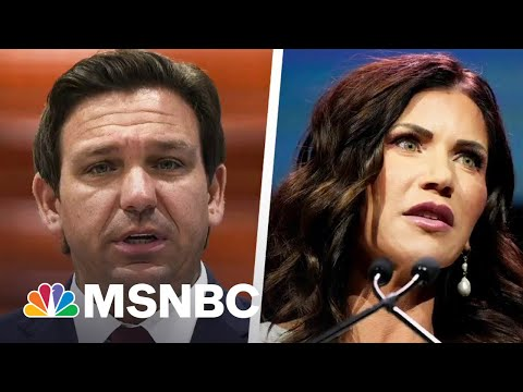 How DeSantis And Noem Are Using Covid Failures As Political Springboards