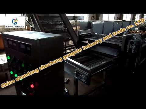 Packaging bags blow drying machine/A machine that blows dry packing bags