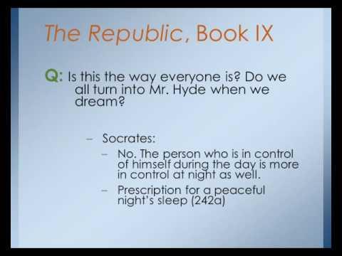 Plato's Republic, Book 9
