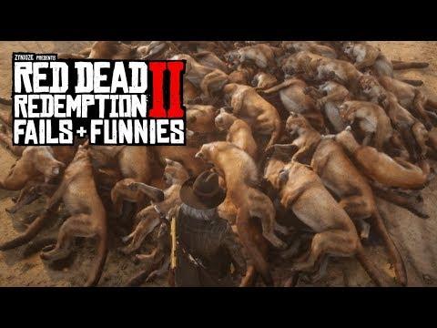 Red Dead Redemption 2 - Fails & Funnies #47 thumbnail