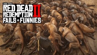 Red Dead Redemption 2 - Fails & Funnies #47